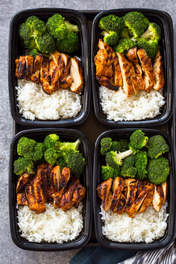 Meal Prep Chicken, Rice & Broccoli